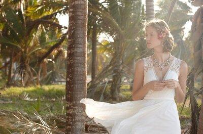 Inspiração tropical em alta: confira os novos vestidos de noiva da BHLDN