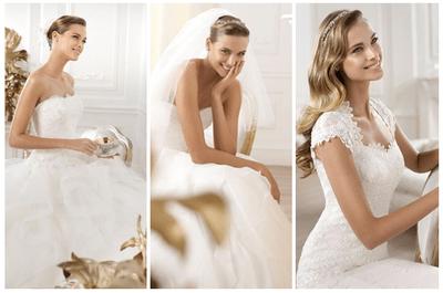 Traumhaft schöne Brautkleider bei Brautmoden Bösckens