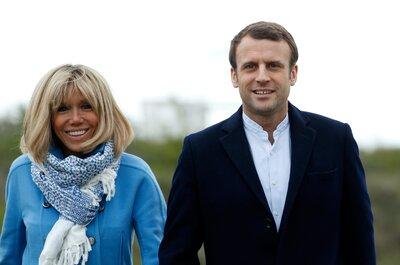 ¿Por qué hay debate cuando tú eres la mayor? Así lo viven el presidente Macron y su esposa