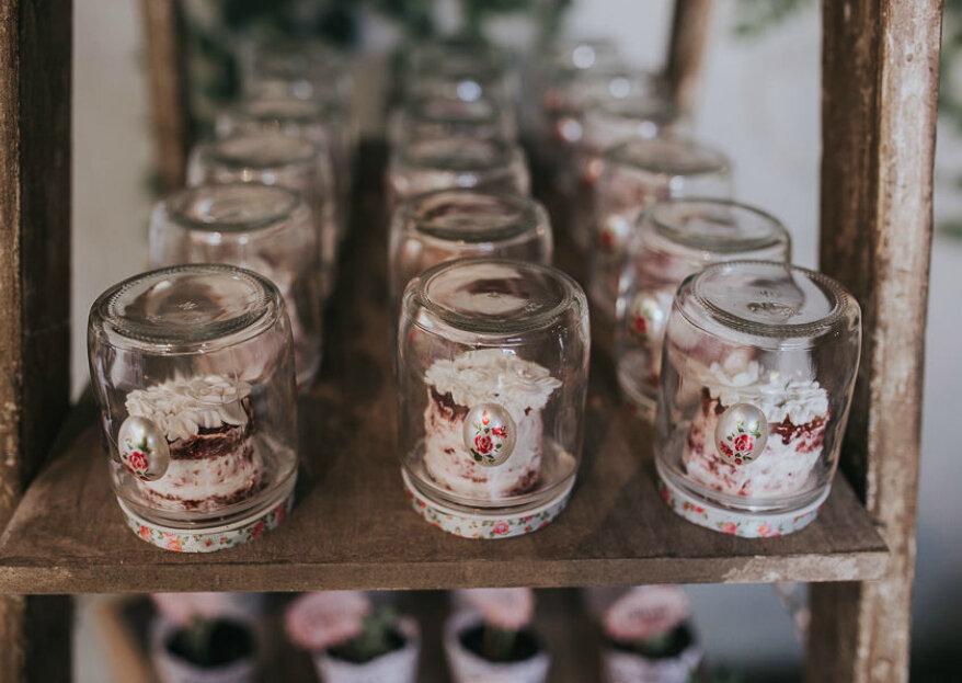 Para cada casamento um estilo de doce ou sobremesa deliciosa. Escolha o seu!