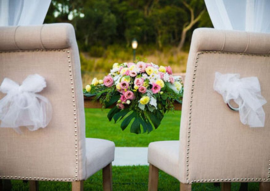 Cenário idílico: escolha entre estas 15 quintas e tenha um casamento especial.