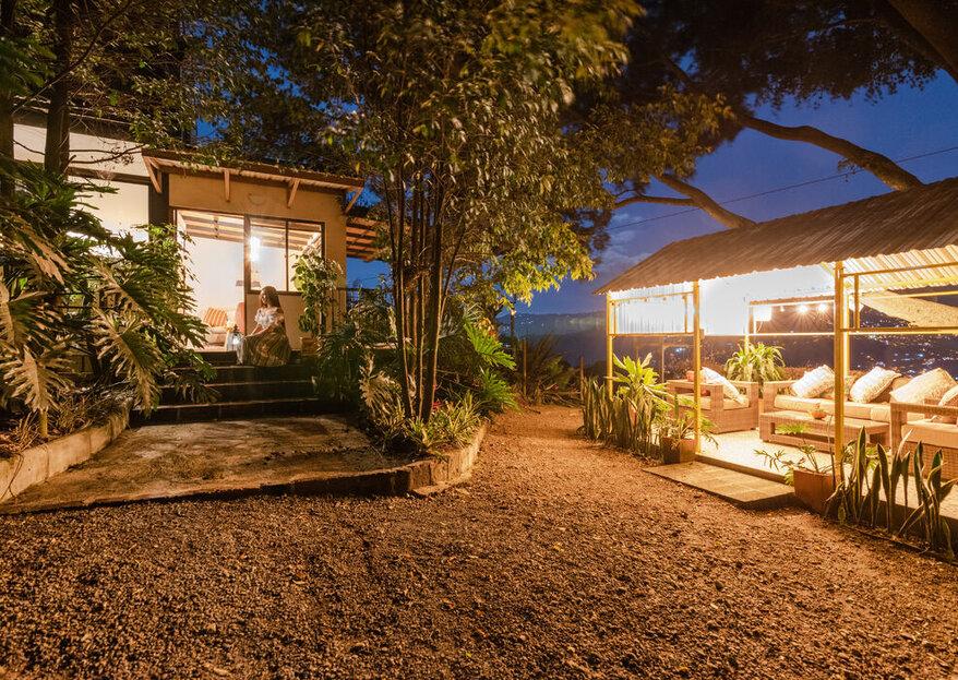 Así es la noche de bodas que no sabías que soñabas: Botánico Glamping