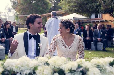 Amalia y Jaime: Una boda campestre con toques vintage
