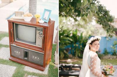 Una real wedding DIY con inspiración indie