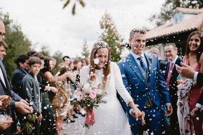 ¿Por qué tirar arroz en los matrimonios? Una tradición con nuevas alternativas muy de moda. ¡Descúbrelas!