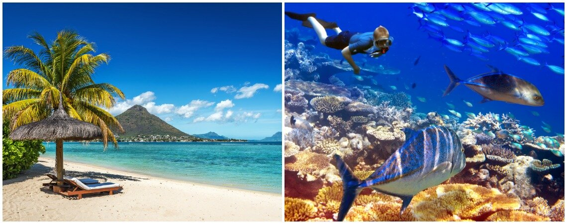 Mauritius, die perfekten Flitterwochen am Stand! Französische Kultur und indische Herzenswärme