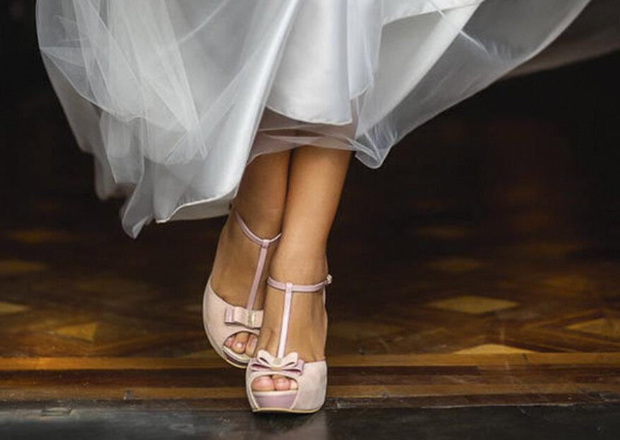 El vestido y los zapatos para cualquier mujer en su gran día: tips para combinarlos