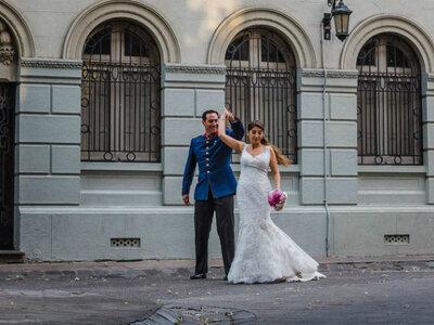 Karen y Sebastián: Un amor desde el colegio que sobrevivió a la distancia