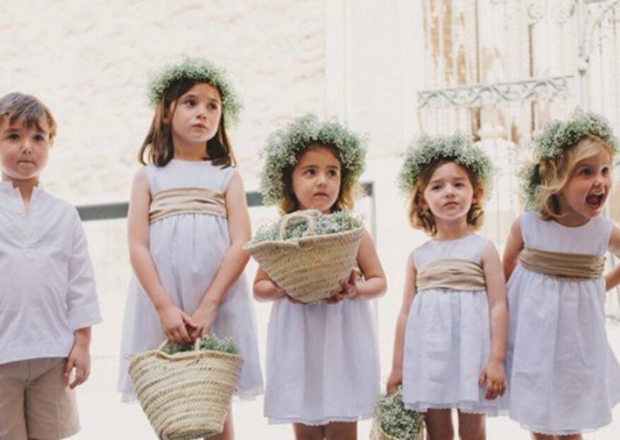 045c5fc9e Cómo vestir a los niños en un matrimonio? ¡Consejos para el look ...