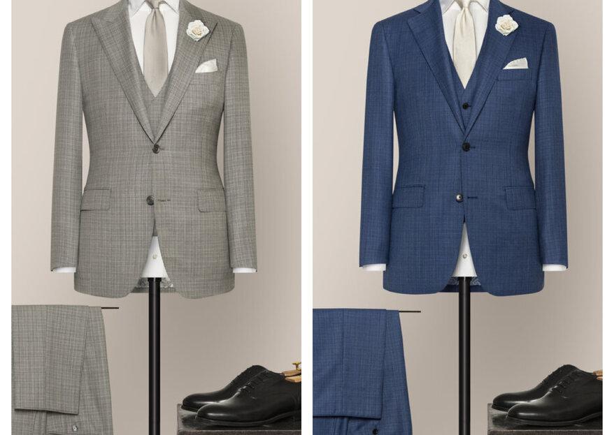 Massanzüge von Alferano für Ihre Hochzeit – individuelle Herrenbekleidung mit Flair