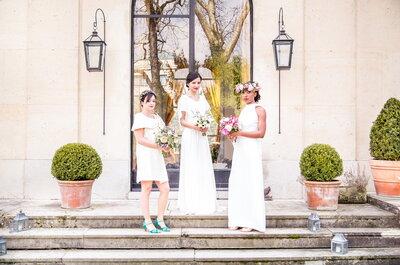 Paris est une fête : Découvrez notre shooting d'inspiration mariage qui respire l'amour !