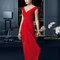 Платье 8T271 Rosa Clará Fiesta 2015 Красное платье для приглашенных