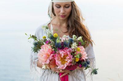 Seis tipos de flores para la decoración de tu matrimonio en 2017