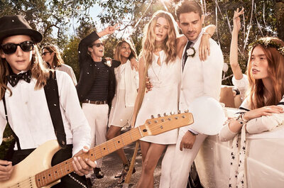 'I DO' by Tommy Hilfiger: nozze rock 'n' roll per la nuova campagna 2015