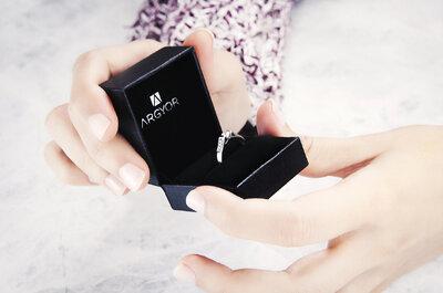 ¿Cómo elegir el mejor anillo de compromiso? Ten en cuenta la regla de las 4 C's