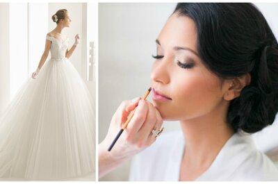 Comment accorder votre maquillage selon le style de votre robe de mariée