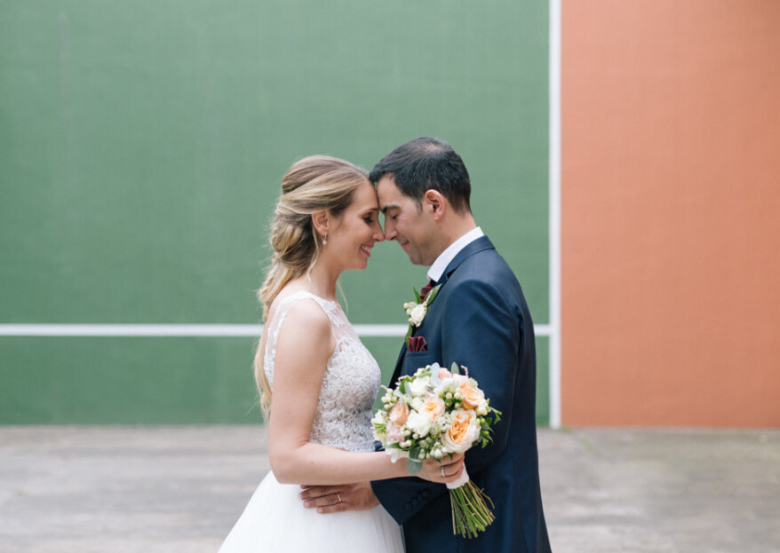 Unidos por el tenis: la boda de Marina y Wences