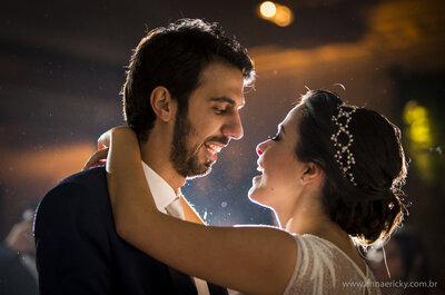 Casamento chique e moderno de Anna Bianca & Marcus no Jockey Club de São Paulo