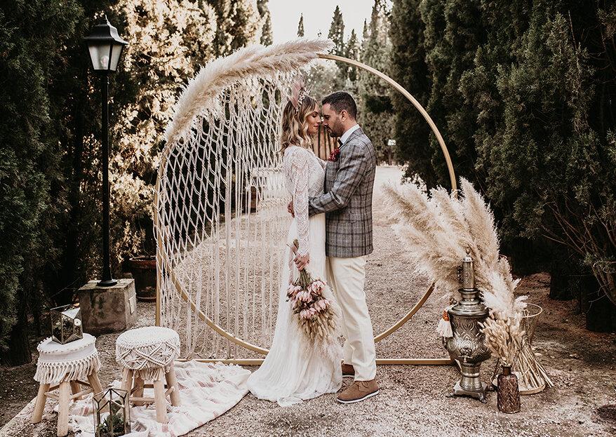 10 razones por las que querrás casarte en invierno de la mano de Boheme Sensations