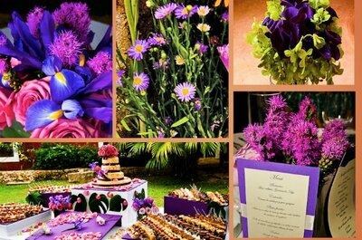 Camaïeu de couleurs pour votre décoration de mariage 2013