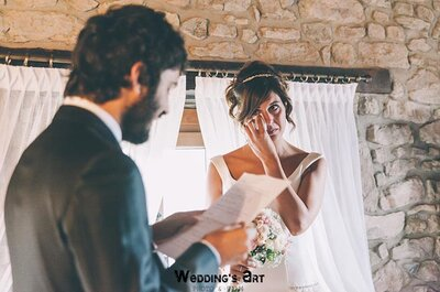 Los mejores trucos para escribir los votos matrimoniales más originales