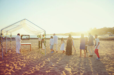 Casar numa praia privada: diga o sim longe de olhares curiosos