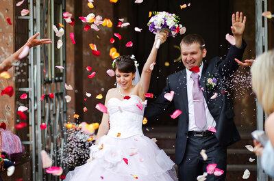Bodas DIY: como hacer curuchos de papel para los pétalos que lanzarán los invitados a la salida de la ceremonia