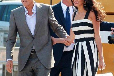 Veja onde e como se casou George Clooney e Amal Alamuddin este final de semana em Veneza