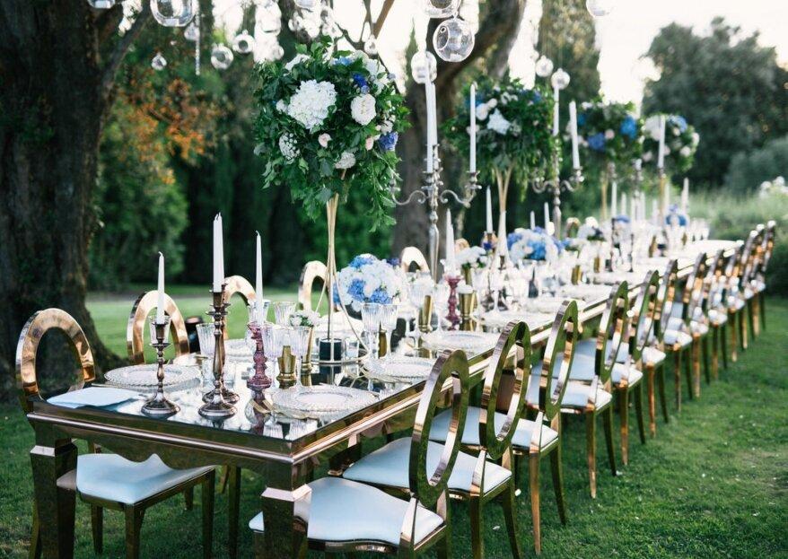 L'appoggio che stai cercando per organizzare un matrimonio elegante: la wedding planner!