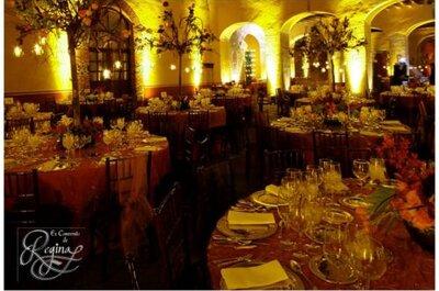 Cómo decorar con luces el salón de tu boda en la noche: hazlo tú misma