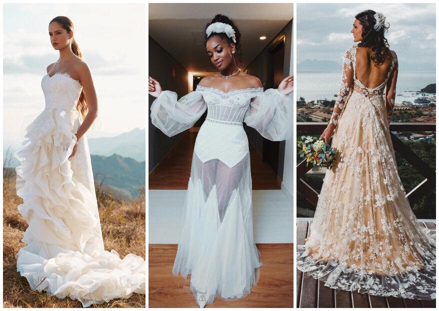 Quanto custa um vestido de noiva no Brasil?