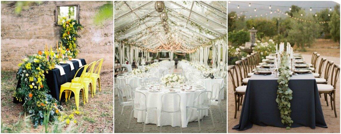 30 idee per decorare i tavoli del tuo matrimonio: prendi nota!