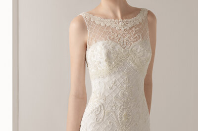 Una selezione (furba) di abiti per la sposa bassa