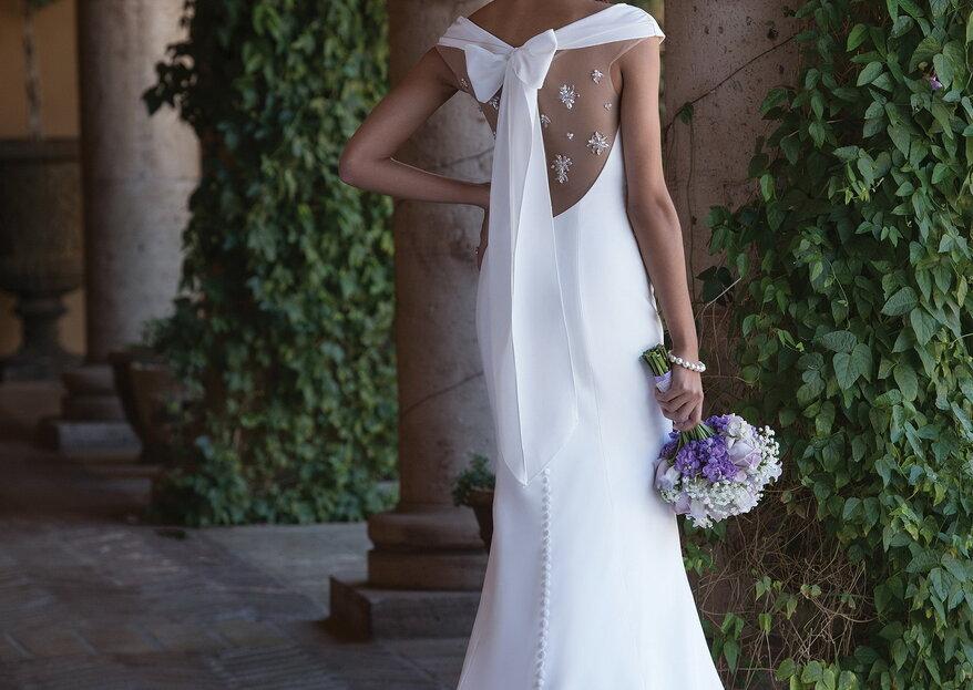 Une variété de robes chez À l'Infini Mariage pour être la plus belle des mariée