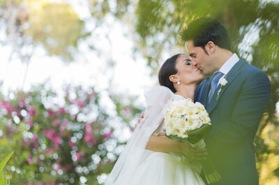Derroche de elegancia y sofisticación: la boda de Claudia y Gabriel