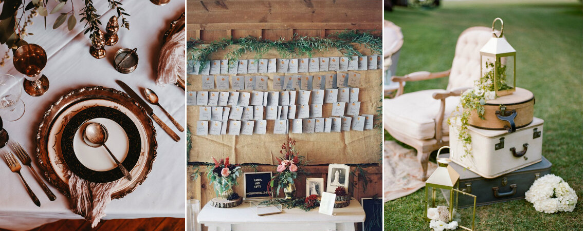 Vintage Wedding Decorations For 2019: Fall in Love Today!