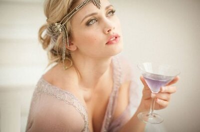 5 Delicious, Gatsby-Inspired Wedding Cocktails: Recipes Included!