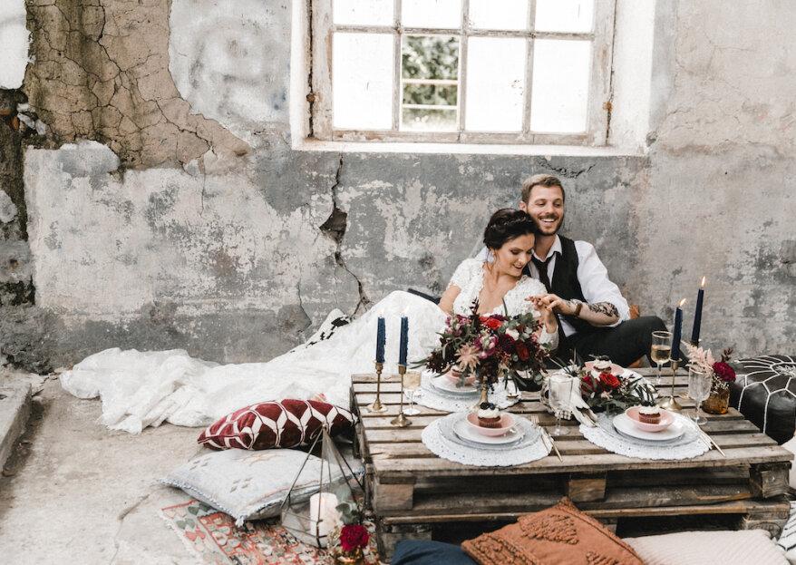 Um casamento Hipster com um toque Boho: a inspiração que procurava para uma cerimónia de sonho!