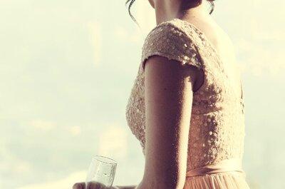Wie man die passende Brautfrisur zum Brautkleid auswählt - perfekt gestylt von Kopf bis Fuß!