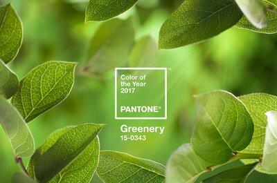 Pantone 2017: Greenery é uma verdadeira celebração da natureza!