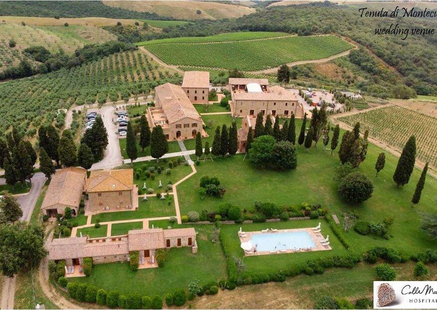 Tenuta di Montecucco : célébrez votre mariage au cœur de la Toscane