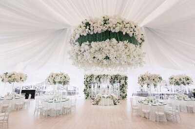Как украсить свадебный банкет : советы и рекомендации!
