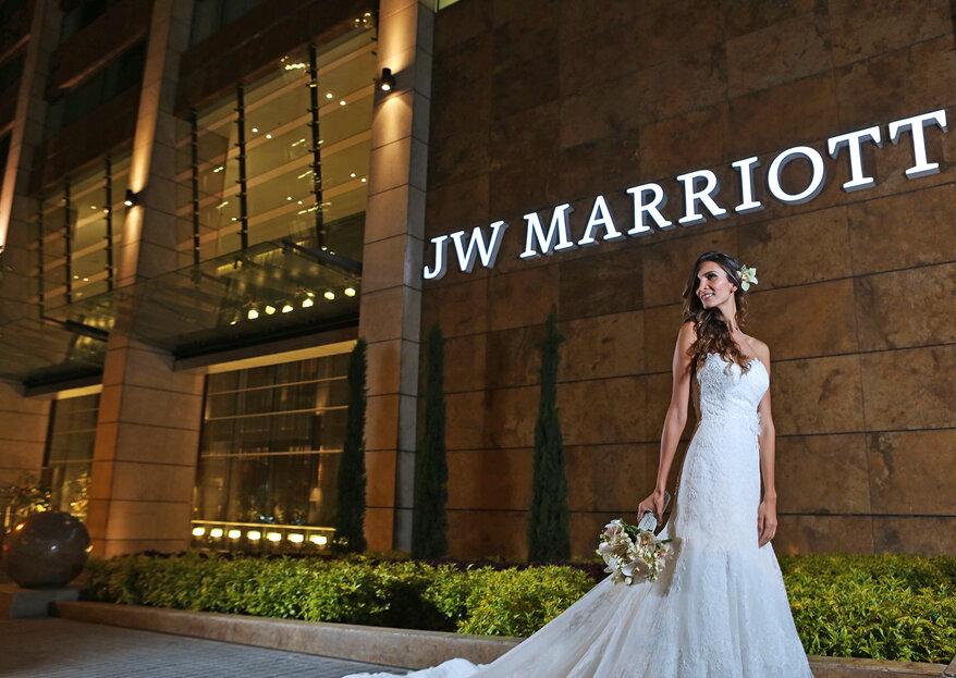 JW Marriott Bogotá: el sitio ideal para una boda espectacular e inolvidable