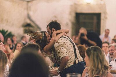 Una novia con mucha personalidad: la boda de Ele y Jaime