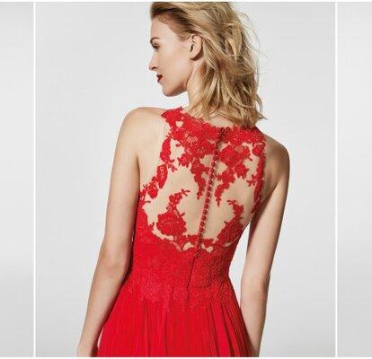 ddbb24e83 Vestidos de encaje para las invitadas más románticas