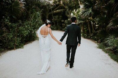 Banquete y lugar para la boda: ¿Por qué lo haces tan lejos?