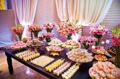 Consejos para tener una mesa de dulces bien decorada en tu boda