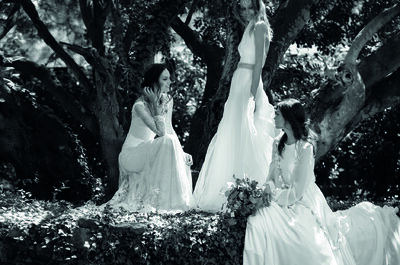Jesús Peiró 2016 Nanda Devi: vestidos de noiva com detalhes apaixonantes!