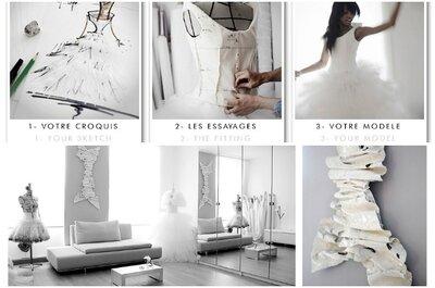 Les créations originales de Laurent Kapelski pour des mariées sublimées