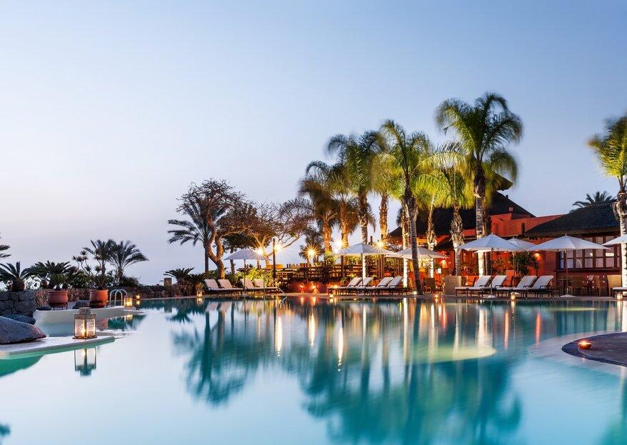 The Ritz Carlton, Abama: un espacio ideal para la boda que siempre has soñado